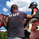 Escursione a cavallo o lezione di equitazione